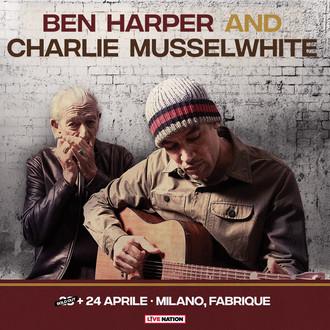 Ben Harper & Charlie Musselwhite: doppia data al Fabrique di Milano, 23 e 24 aprile 2018