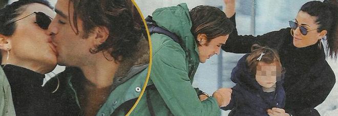 Federica Nargi e Alessandro Matri sono una coppia al bacio e da quando c'è la piccola Sofia l'amore si è triplicato: guarda