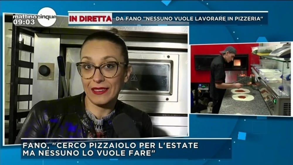 """""""""""Cercasi cuoco e pizzaiolo: stipendio da 2300 euro ma non trovo nessuno"""""""""""