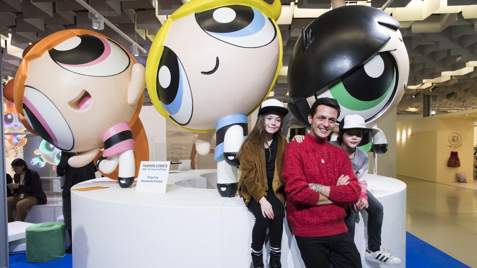 CARTOON NETWORK A PITTI BIMBO CON LE POWERPUFF GIRLS