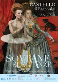 SOVRANE ELEGANZE: al Castello di Racconigi protagoniste le donne di Casa Savoia Dal 17 marzo al 10 giugno 2018