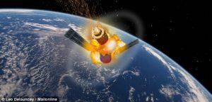 La stazione spaziale cinese fa un buco nell'acqua
