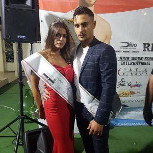 """Miss Blumare e Mr HWT: al """"White Diamond"""" trionfano Carla Maddaloni E Pasquale Caliendo"""