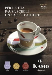 Caffè Kamo, il caffè  partenopeo d'autore di antica e prestigiosa tradizione