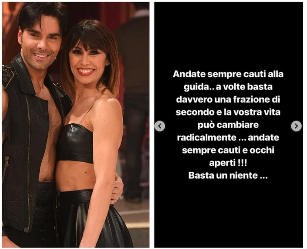 Massimiliano Morra, vittima di un incidente stradale: in dubbio per 'Ballando con le stelle'. L'attore sul social: 'Andate sempre cauti alla guida'