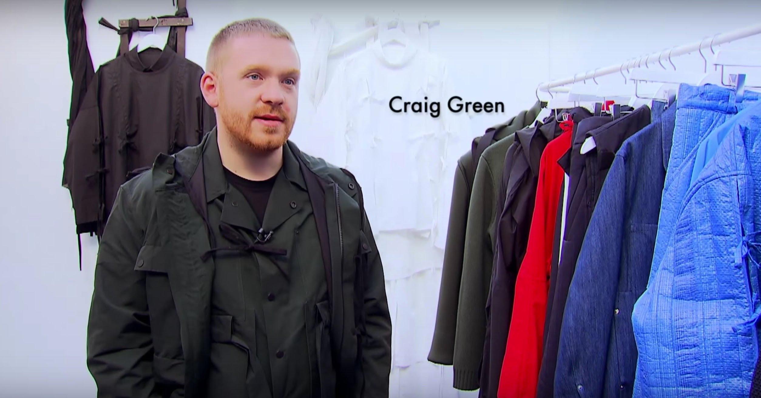 CRAIG GREEN  MENSWEAR GUEST DESIGNER