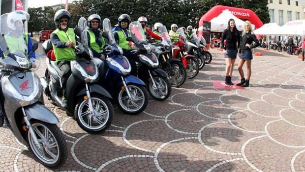 """Honda 'official motorcycle' della Maratona di Roma 2018"""