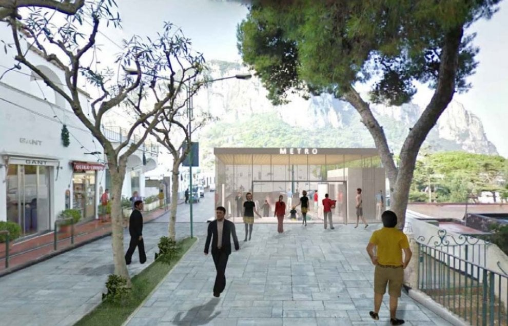 Capri apre all'idea metropolitana, ma l'isola si divide