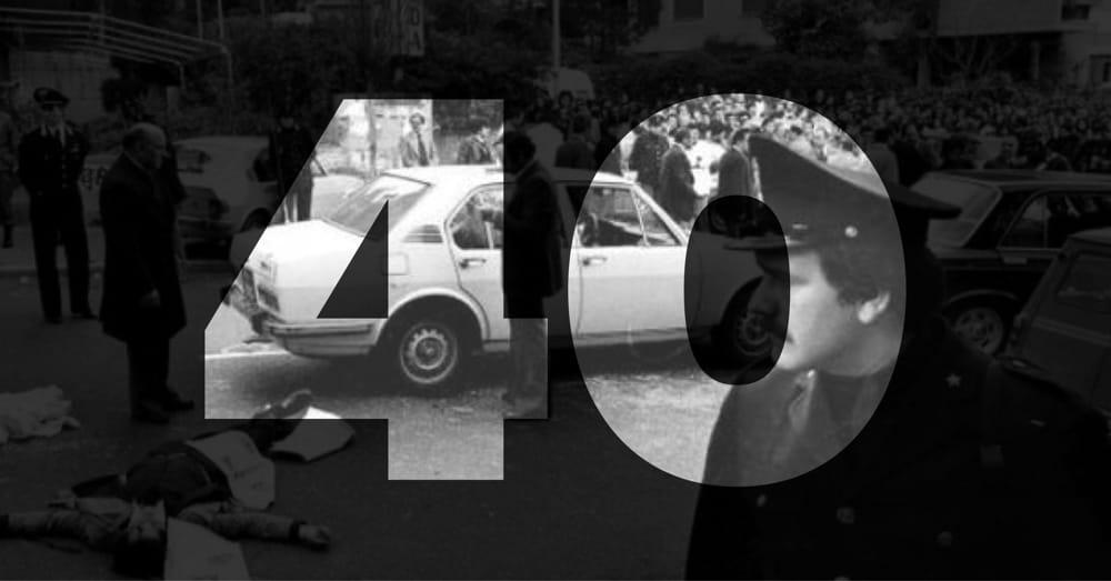"""""""Quelli di via Fani"""": 40 anni fa il rapimento Moro e la strage degli uomini della scorta"""""""