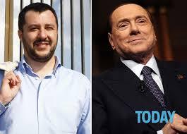 Salvini apre a 5S. Berlusconi lo gela