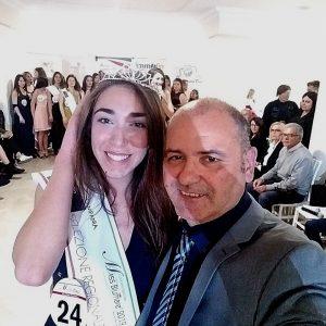"""Miriam Pone,16enne e reginetta di bellezza per la quinta tappa di """"Miss Blumare 2019″presso l'International Resort di Mondragone"""