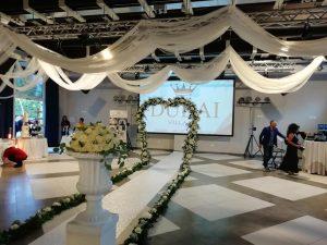 """Al Dubai Village la prima edizione del wedding party """"Dea Sposa"""".Testimonial l'attore Francesco Testi"""