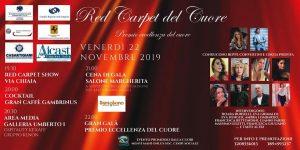 """Il """"Red Carpet del cuore"""" : solidarietà e divertimento nel cuore di Napoli"""
