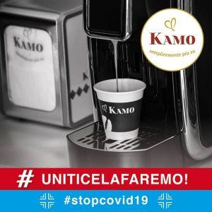 """Caffè Kamo"" risponde all'emergenza Coronavirus"