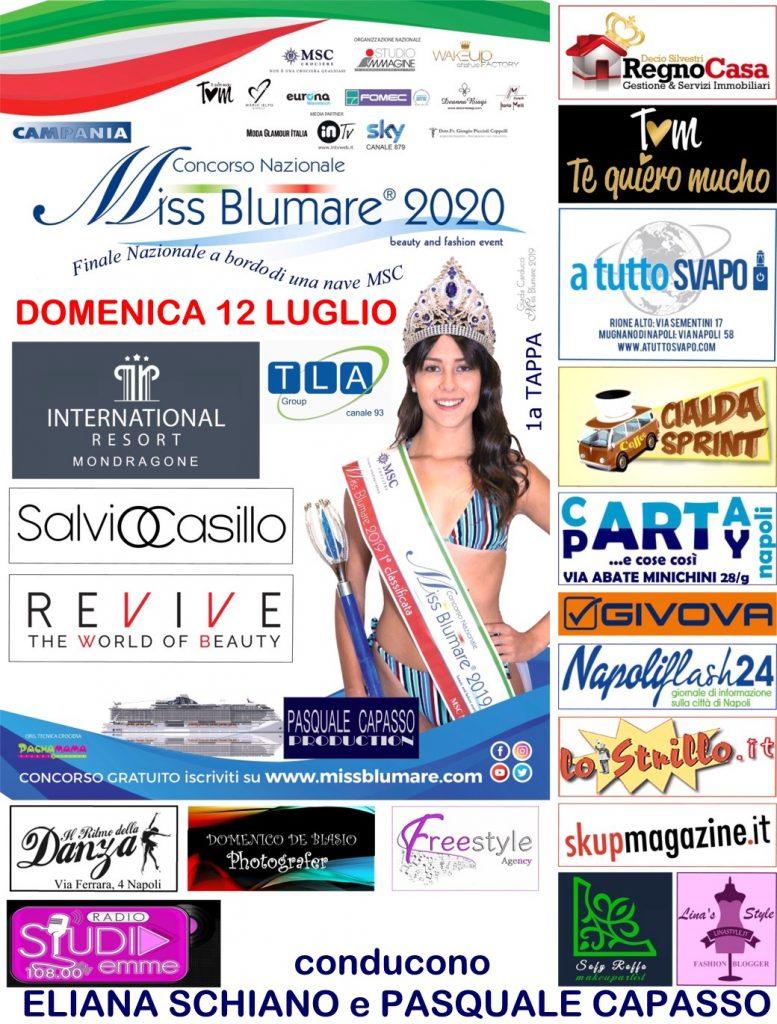 Riparte dopo 4 mesi di ritardo a causa del covid il concorso di bellezza 'Miss Blumare 2020'