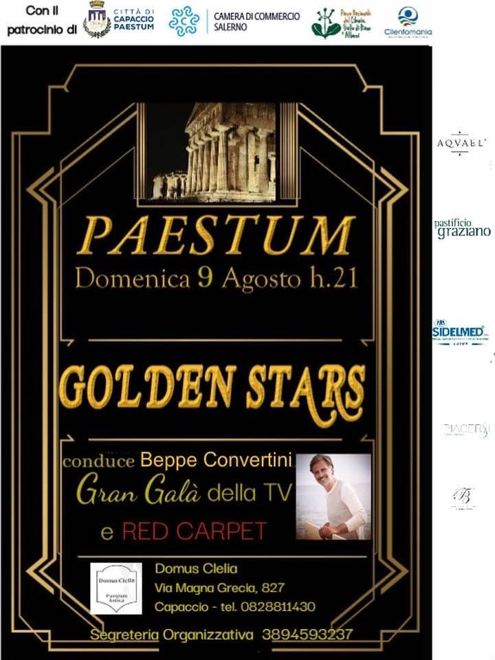 """""""Golden Stars"""", Beppe Convertini presenta il Gran Galà della Tv"""